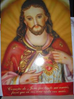 Brinde Gratis Estampa do Sagrado Coração de Jesus