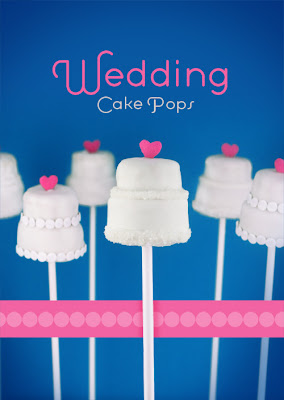 Delicious Wedding Cake Pops