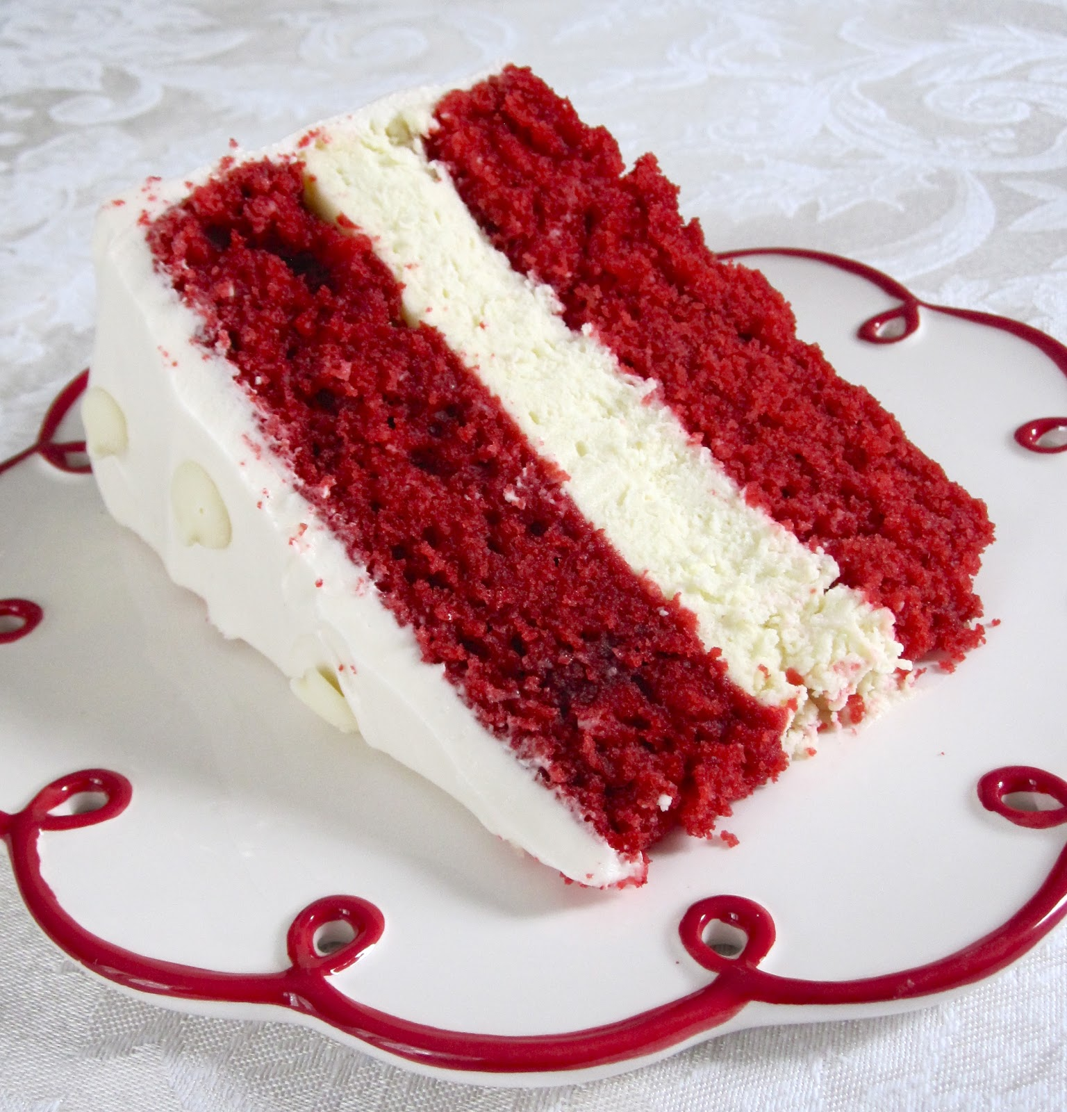 Chocolate Therapy: Red Velvet Cheesecake Cake
