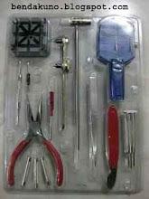 Set Alat Service Jam(16 item) Murah Rp.90.000