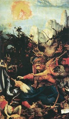 Mathis Grünewald The Temptation of St Anthony