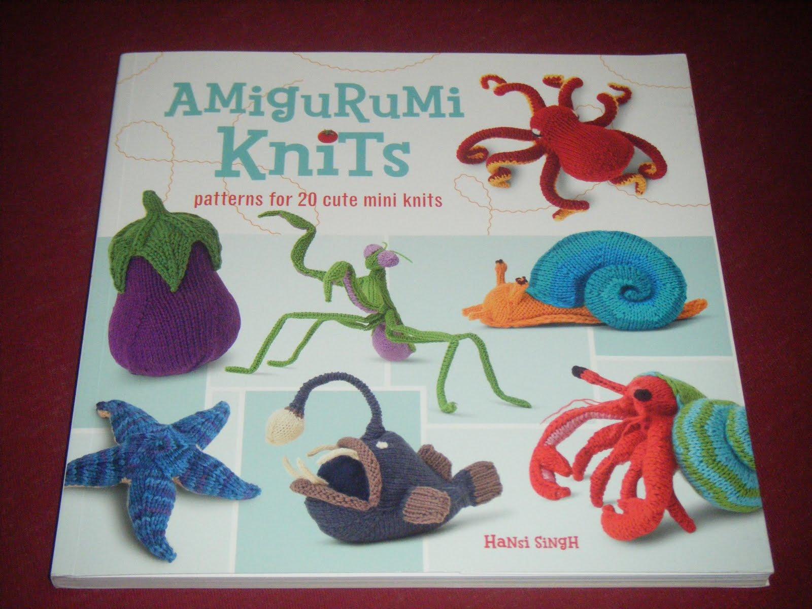 The glorious books!: Amigurumi Knits