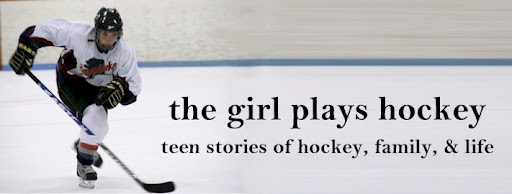 the girl plays hockey