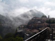 Δημητσανα, τοπιο στην ομιχλη