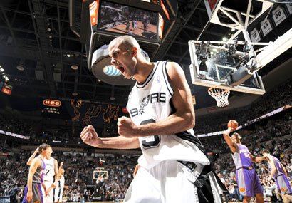 Spurs Advances to the Semis!