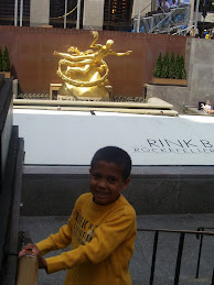 Alex in NY with Dad
