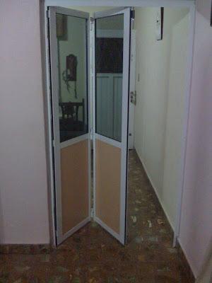 His cerramientos puertas plegadizas for Puerta plegable aluminio