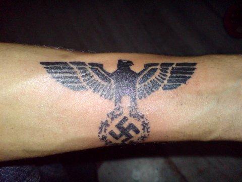 Third Reich Eagle Tattoo