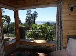 Vista desde la casa