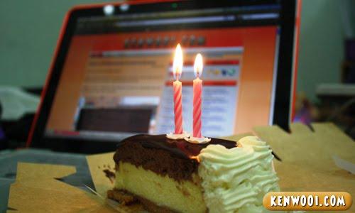kenwooi birthday cake