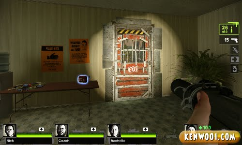 left 4 dead 2 safe house