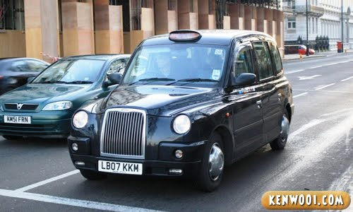 london black taxi cab