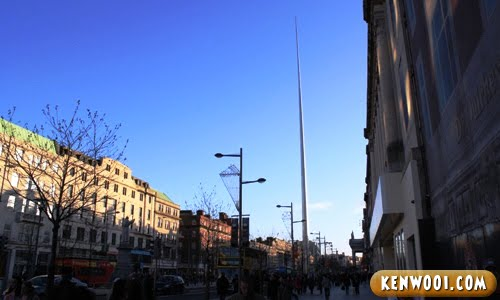 dubin o'connell street spire