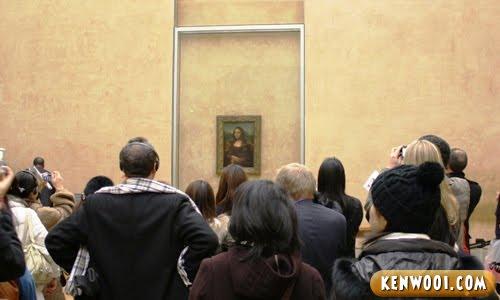 paris lourve museum mona lisa