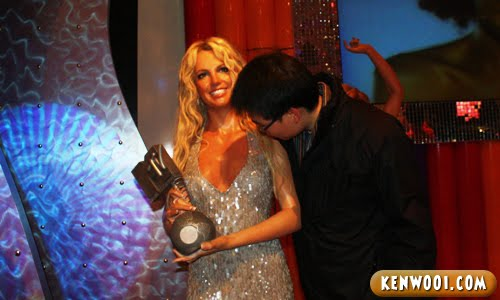madame tussauds london britney spears