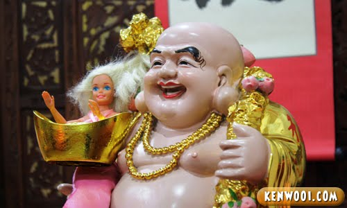 chinese god barbie