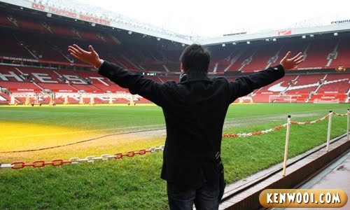 inside old trafford stadium