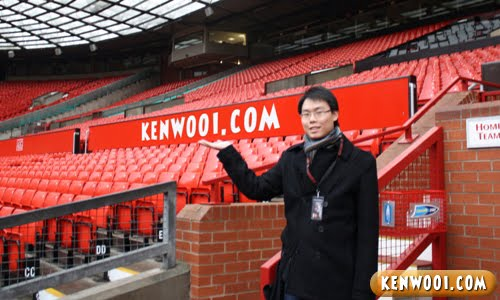 kenwooi at old trafford