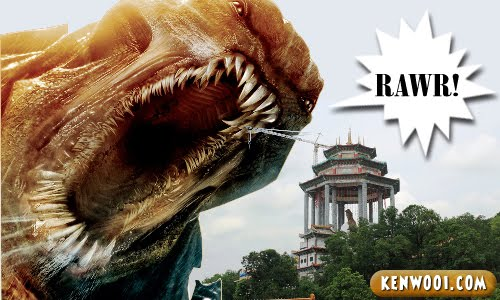 kek lok si kraken clash of the titans