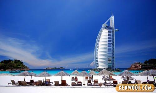 redang island burj al arab hotel