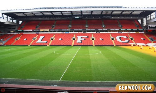 liverpool anfield pitch