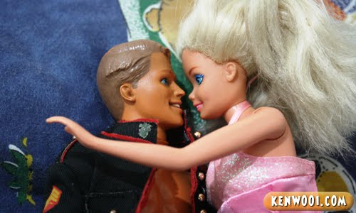 ken barbie hug
