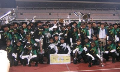 winning marching competition