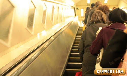 escalator up