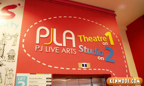 pj live arts theatre studio