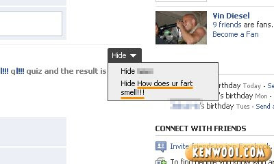 facebook quiz how does your fart small