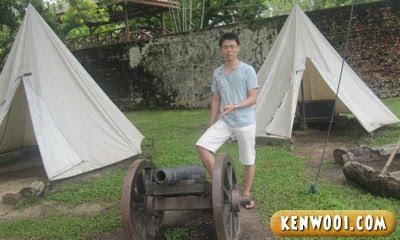 penang fort cornwallis canon
