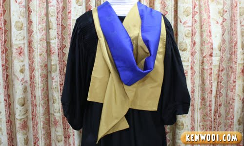 graduation robe cape