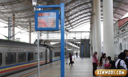 ipoh railway station inside