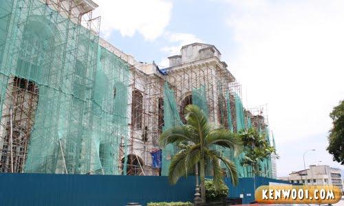 ipoh town hall renovation