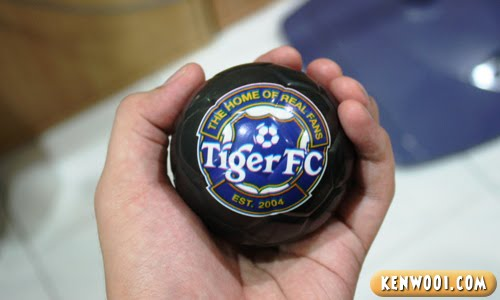 tiger world cup stress ball