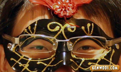 close up mask