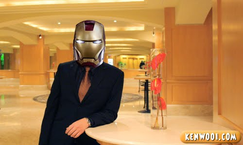 iron man headgear