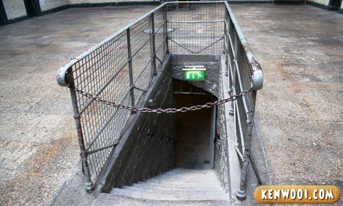 dublin kilmainham gaol tunnel