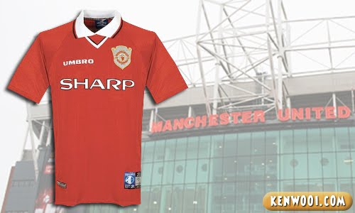 manchester united sharp jersey