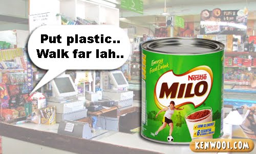 milo tin walk far