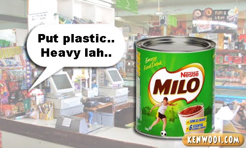 milo tin heavy