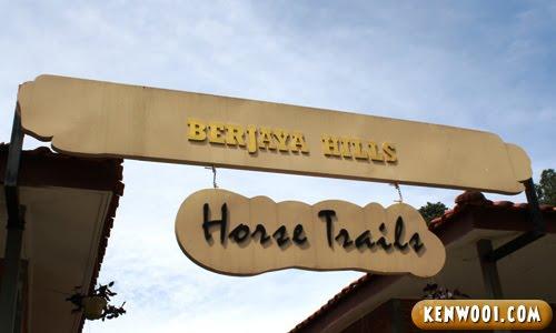 bukit tinggi horse trails