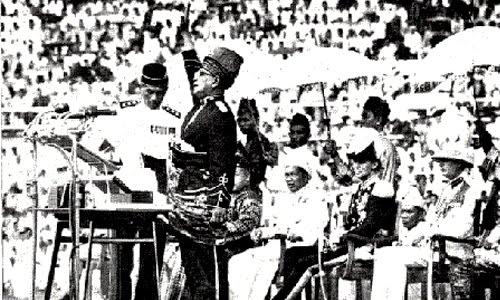 malaysia merdeka 1957