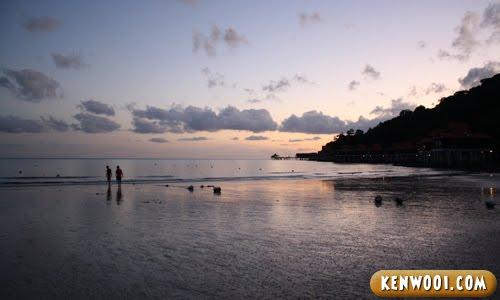 berjaya langkawi beach sunset