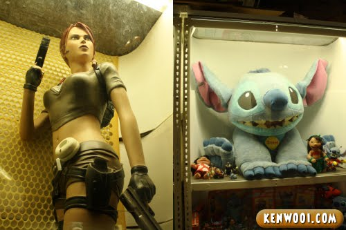 lara croft and stitch