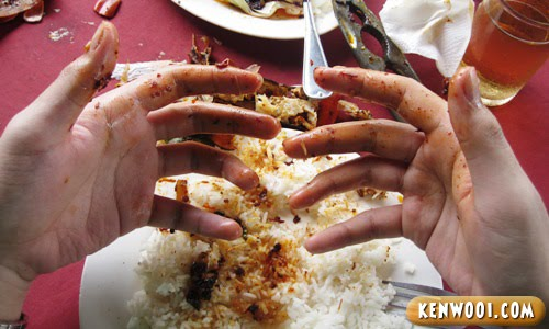 klang crab dirty hands