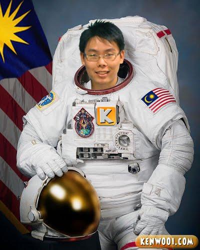 malaysian astronaut
