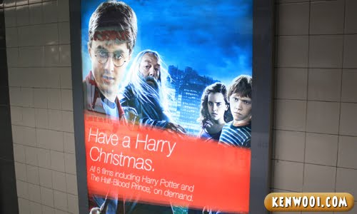 christmas harry potter