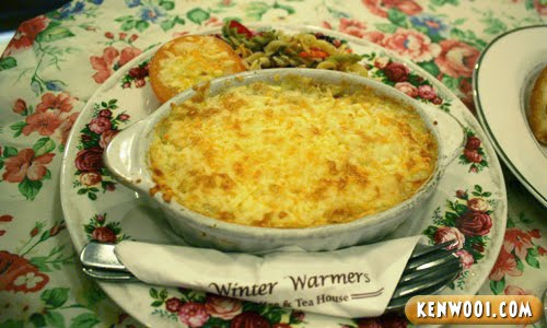winter warmers cheese baked