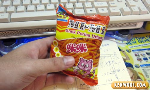 mimi snack packet